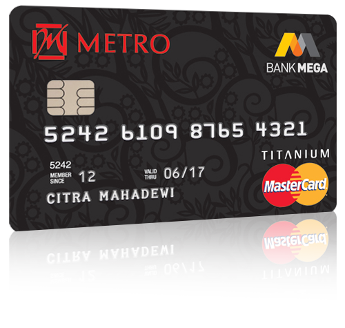 Kartu Kredit Bank Mega